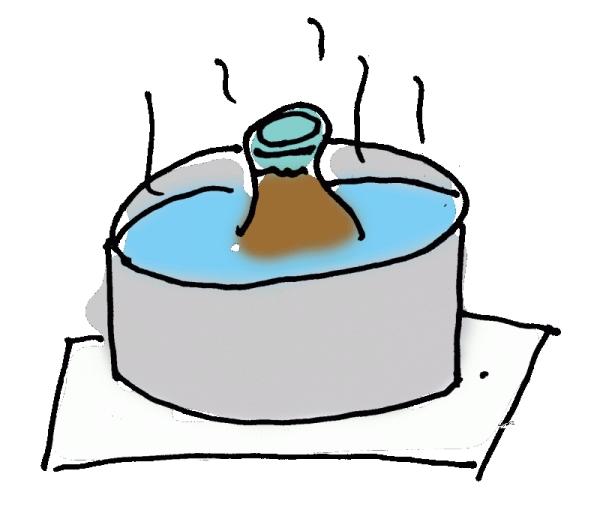 燗酒の作り方